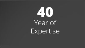 40 Years of Expertise